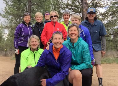 Central Oregon community members recreate at Skyline Forest. Photo: Nancy Chaffee.