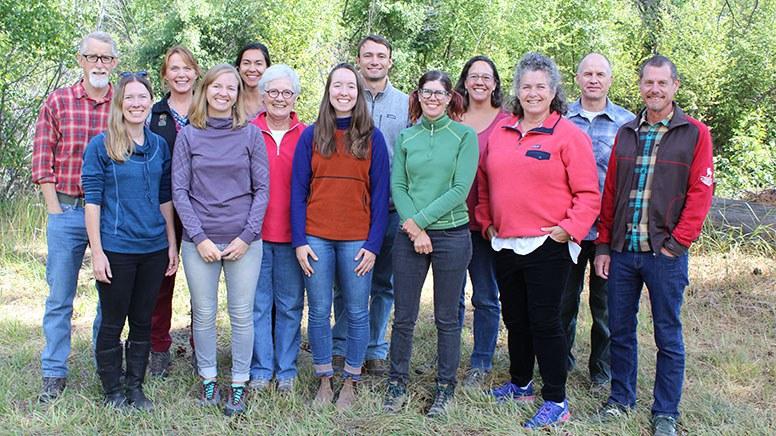 Deschutes Land Trust staff and team. Photo: Jay Mather