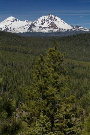 The Central Oregon Cascades. Photo: Jay Mather.