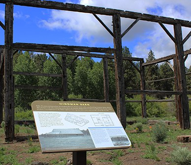 Learn about local history at Camp Polk Meadow Preserve. Photo: Land Trust.