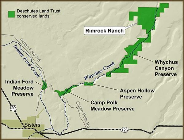 Rimrock Ranch Map 600