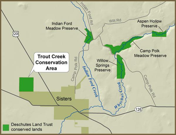 Trout Creek Map 600