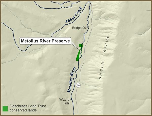 Metolius River Preserve Map_600px
