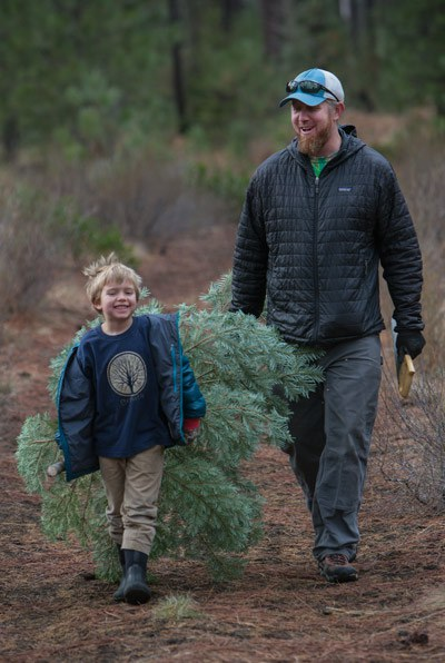It's time to get ready for the Tree Hunt! Photo: Jay Mather.