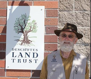 Steve Ponder was a Land Trust volunteer. Photo: Land Trust.