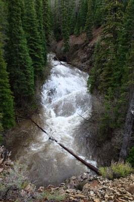 Whychus Falls. Photo: Brian Ouimette.