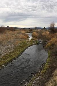 McKay Creek at Ochoco Preserve. Photo: Land Trust.
