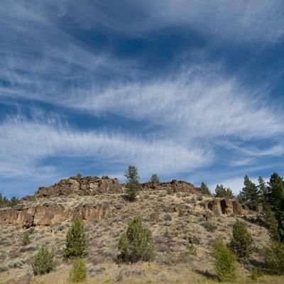 Cirrus clouds. Photo: Brian Ouimette.