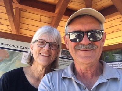 Amazing Trail Stewards Deb and Gary Weber. Photo: Provided.