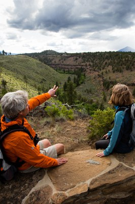 Join us on a hike! Photo: Tyler Roemer
