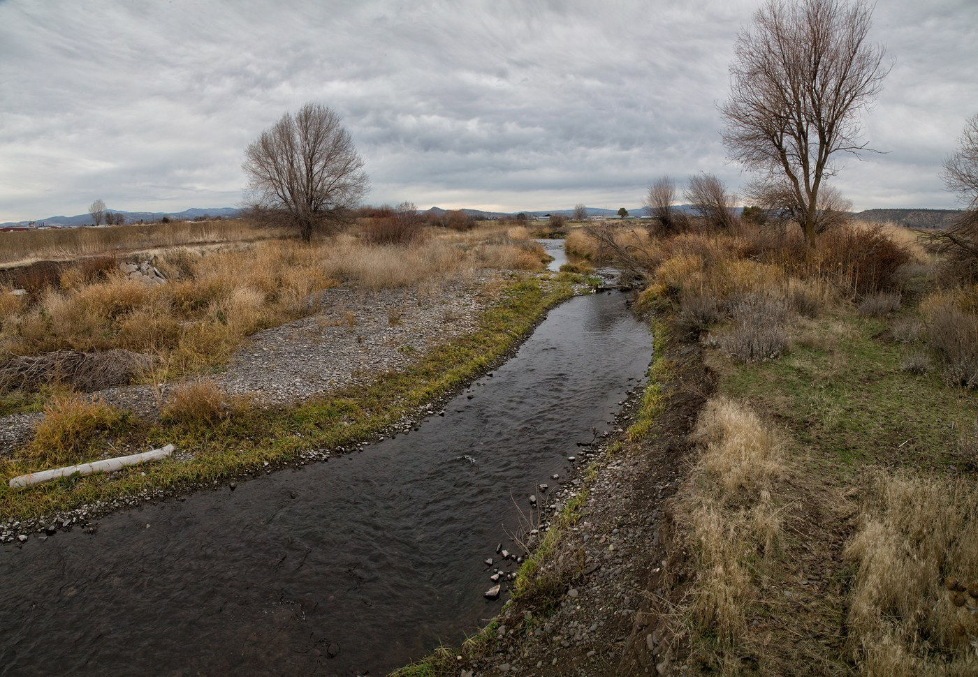 McKay Creek flows through a Land Trust Preserve in Prineville. Photo: Jay Mather
