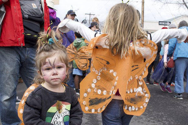 Wear your Monarch wings and flutter about! Photo: Land Trust.