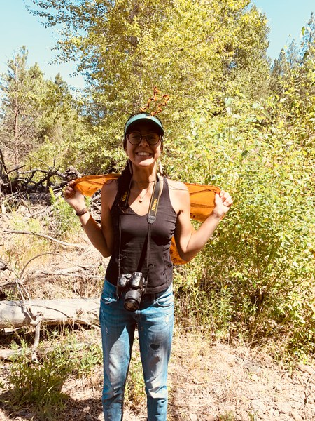 Rebekah focuses her time on outreach and connecting people with their lands. Photo: Land Trust.