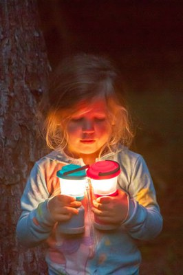 Flashlight hikes are fun for everyone! Photo: Sue Anderson.