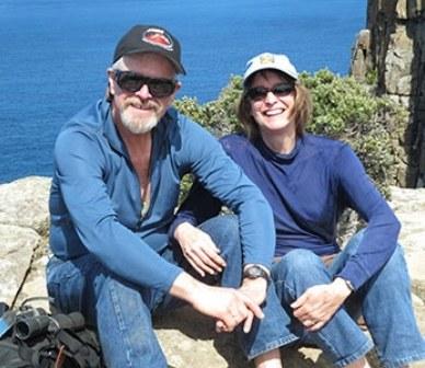 Catherine and Marty Morrow. Photo provided.