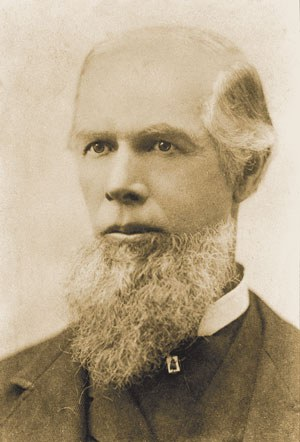 Samuel Hindman, c. 1880. Photo: Bowman Museum.