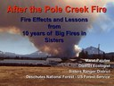 Pole Creek Fire Recovery: Slidecast from the January Nature Night presentation