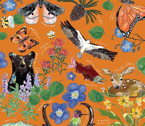 Celebrate the Nature of Central Oregon with a 25th Anniversary Poster