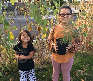 Land Trust partners with Madras, Warm Springs, and Prineville groups to plant monarch gardens