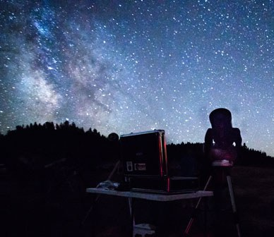 Night Sky Quality Being Measured at Land Trust Protected Rimrock Ranch