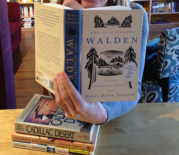 Bend bookstore first in US to give '1% for the Planet'