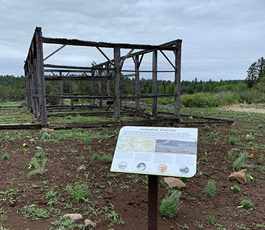 Deschutes Land Trust creates new historic interpretive trail at Camp Polk Meadow Preserve